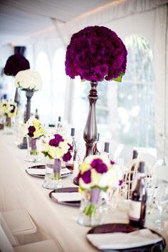 This color is a true eggplant - while this arrangement is out of the price range at this height, we could look at some smaller options.