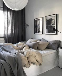 Minimalist Home Bedroom Grey feminine minimalist decor home office.Minimalist Kitchen Tiny Small Spaces minimalist home closet apartment therapy.Minimalist Home Bedroom Grey. Interior Design Minimalist, Minimalist Bedroom, Minimalist Home, Bedroom Inspo, Home Decor Bedroom, Bedroom Neutral, Neutral Bedding, Bedroom Curtains, Bedroom Chair