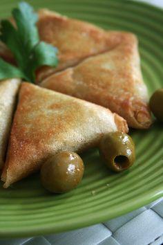 Bricks au poulet et olives - Passion culinaire by Minouchka