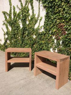 Chevets en bois exotique
