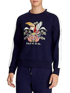 09d8d832e6e POLO RALPH LAUREN Polo University Bear Wool   Cashmere Sweater ...