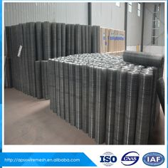 Galvanized Low carbon steel 3/4 inch welded wire mesh fencing factory