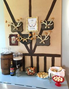 """Gaston's Tavern from a """"Be Our Guest"""" Beauty and the Beast Party on Kara's Party Ideas 