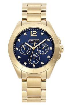 COACH 'Tristen' Multi Eye Dial Bracelet Watch, 38mm | Nordstrom