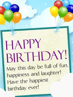 87 Best Birthday Wishes Cards Images Happy Birthday Greeting Cards