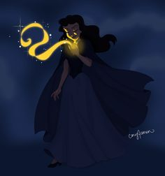 Ursula as a human. Disney Fan Art <3