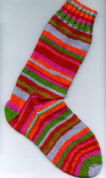 The 56 Stitch,56 Row Sock