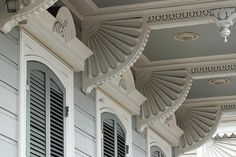 Brackets 2 by kberke  Architectural features of many New Orleans homes.