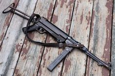 World War 2 German MP40 9mm submachine gun Maine #wwii #ww2 #mp40 #german #hermonmaine #hermonme #bangormaine #bangorme #maine #military #veterans #weapons #guns #firearms #machine #submachine Machine Guns, Submachine Gun, Survival Weapons, Bangor, Dog Rules, Zombies, Firearms, Soldiers, World War