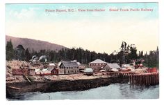 BC – PRINCE RUPERT, View of City From the Harbour c.1910s PPC