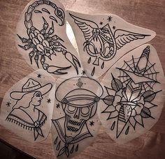 Skull Tattoos, Rose Tattoos, Leg Tattoos, Black Tattoos, Body Art Tattoos, Sleeve Tattoos, Traditional Black Tattoo, Traditional Tattoo Design, Tattoo Sketches