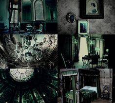 House Common Room aesthetics - Slytherin Dungeon Ravenclaw | Hufflepuff | Gryffindor
