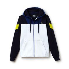 c4f2412334 Men's SPORT Tennis Colorblock Bi-material Zip Sweatshirt. Vetement  LacosteLacoste FemmeMolletonMode HommeVesteAutresLacoste Pour ...