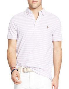 Polo Ralph Lauren Hampton Shirt Men's Light Purple Medium