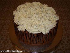 Tort cu ciocolata si frisca – Flori's Kitchen