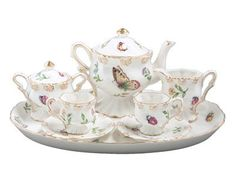 Olivia's Dragonflies Girl's Tea Set in Gift Box