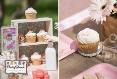 Cute glitter wrappers for cupcakes and a fun shabby chic drawer. All available at Partystock!