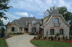Luxury European Home Plan 129S-0003 | House Plans and More