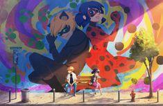 Chatnoir et Ladybug Adrien et Marinette Un destin partagé