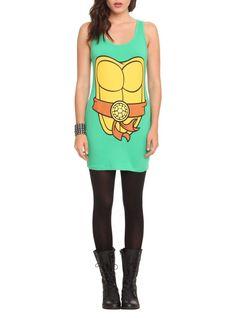 Juniors/Womans TMNT Ninja Turtles Tank Dress New with Tags Sz Small Comfy & Fun! #NickelodeonTMNT #Casual