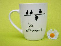 Tassen mit Spruch ♥ SpruchTASSEN be different