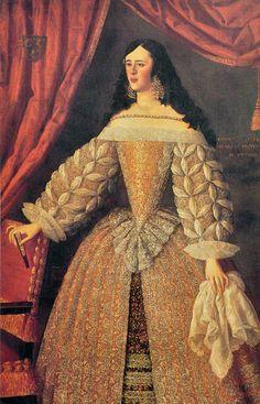 Spanish Woman, Spanish Art, Spanish Ladies, Baroque Fashion, Vintage Fashion, 17th Century Fashion, Spanish Royalty, Spanish Fashion, Classical Art