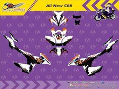 Custom Decal Vinyl Striping Motor Full Body Honda All New CBR 2016 Thema Dragon Japan Berkualitas by DIGITIVE