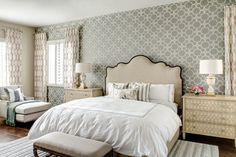 North Scottsdale - transitional - Bedroom - Phoenix - J & J Design Group, LLC.