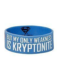 HOTTOPIC.COM - DC Comics Superman I'm Not Saying Rubber Bracelet