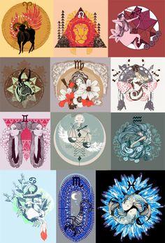 Zodiac Graphic Downloads