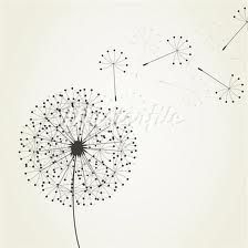 Illustration of From a dandelion seeds fly. An illustration vector art, clipart and stock vectors.