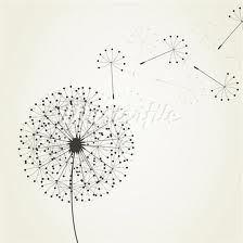 blowing dandelion tattoo idea