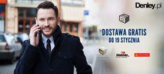 Do północy nie płacisz za dostawę na www.denley.pl  Nie zwlekaj i zamów!