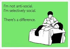 Selectively social