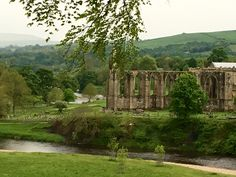 Bolton Abbey - Duke of Devonshire's estate in the Yorkshire Dales