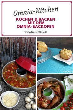 """OMNIA-Kitchen ist die Welt der OMNIA-Rezepte. Lass dich verzaubern von wunderbaren Aufläufen, knackige Brote, leckere Kuchen, Hähnchen-Ideen. One-Ot-Gerichte und vieles mehr. Camper müssen auf nicht verzichten. Alle Rezepte sind von """"4 Reifen und 1 Klo"""" erprobt, getestet und veröffentlicht worden. Kochen und backen mit dem OMNIA-Backofen macht einfach Spaß!"""