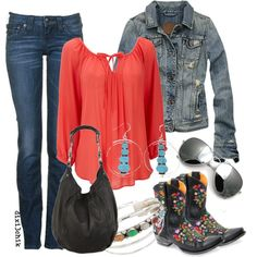 A fashion look from February 2013 featuring Wallis blouses, Abercrombie & Fitch jackets and True Religion jeans. Browse and shop related looks.