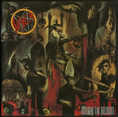 Slayer: Reign In Blood. When Slayer released their masterwork in 1986, Thrash Metal was still in its infancy. Bands were still finding their feet, and the music was still being shaped and formed. What Slayer did with this album was define the genre absolutely. In my opinion, no other extreme metal band has ever bettered this behemoth of relentless, brutal beauty: not even Slayer themselves. A stone-cold classic. It also reminds me of being young; always a good thing.