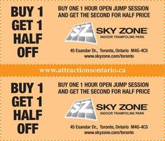 Enjoy up to 41% OFF with Sky Zone Coupon Codes 2016 or Promo Code at Promo-code-land.com.