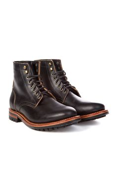 49bf3067d2f5 Oak Street Bootmakers Trench Boot Black Chromexcel