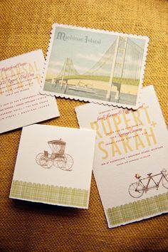 postcard RSVP