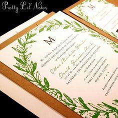 watercolor hydrangea floral custom wedding invitation faith