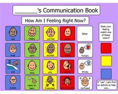 Boardmaker Online= communication book for toddlers, incorporates zones of regulation with sensory choices
