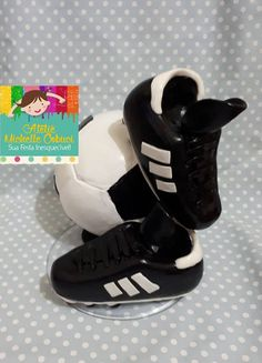 Ronaldo, Soccer Birthday Cakes, Cake Decorating Videos, Fondant Figures, Cake Creations, Polymer Clay, Adidas Sneakers, Lucca, Barcelona