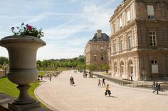 Jardin du Luxembourg : Palais du Luxembourg