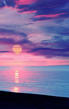 Colorful Sunset over the Ocean photography colorful sky sunset Beautiful Sunset, Beautiful World, Beautiful Places, Amazing Sunsets, Stunningly Beautiful, Beautiful Scenery, Wonderful Places, Absolutely Gorgeous, All Nature