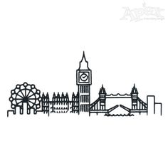 London Pack Embroidery Designs