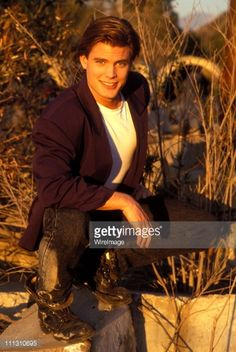 Casper Van Dien during Casper Van Dien Portrait Shoot at Griffith Park in Los Angeles, California, United States.