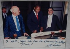 On June 21, 1986, Heisman Trophy winner Bo Jackson shocked the sports world by signing a professional baseball contract to play for the Kansas City Royals. Kansas City had selected Jackson in the fourth round of the 1986 June Draft. Photo courtesy of the Royals Hall of Fame.