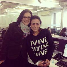 Ana Montenegro e Rosele Martins - Casa Vogue